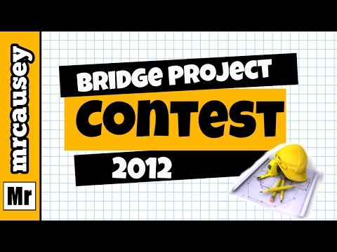 Mr. Causey's Bridge Projects 2012