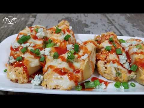 Buffalo Chicken Stuffed Shells Recipe | Episode 572