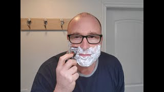 How to shave your face.
