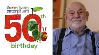 Eric Carle Discusses 50 Years of The Very Hungry Caterpillar