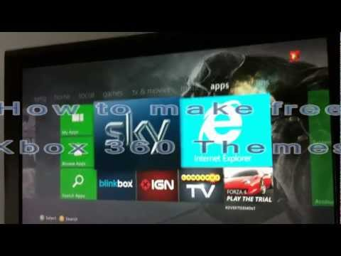 How to make free themes for Xbox 360 *Fast and Simple*