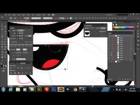 Speed Art- Ghost character design in Adobe Illustrator-Swiftyspade