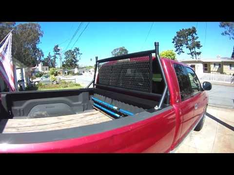 Cummins Truck Headache Rack Completed