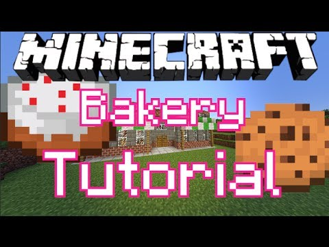 Bakery!- (Minecraft Tutorial)
