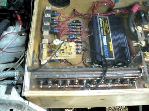 Electric Car Conversion with Home Made Controller 92 Eagle Talon EV