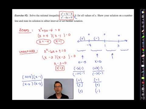 Common Core Algebra II.Unit 10.Lesson 13.Solving Rational Inequality