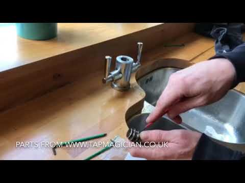 How to change the spout O'rings on a Franke Olympus Tap
