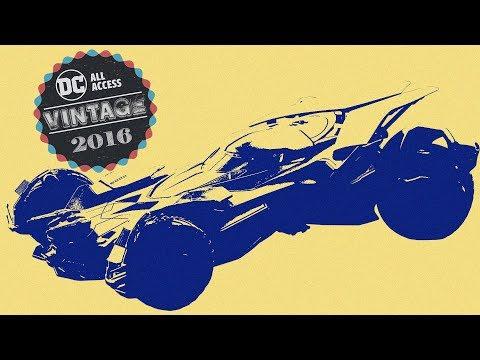 VINTAGE: Batmobile Secrets & Concept Art w/ Batman v Superman Designer