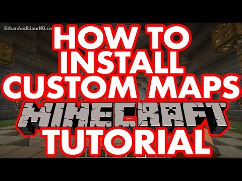 How To Install Custom Modded Minecraft Maps : PC + MAC Tutorial