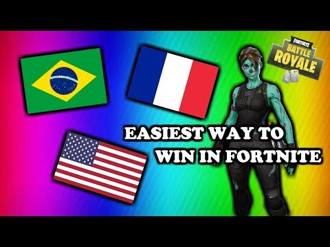 EASIEST SERVERS IN FORTNITE!!! (25 WINS IN ONE DAY)