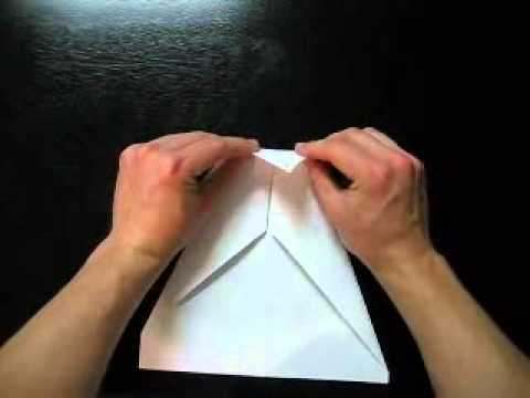 How to Make a Paper Airplane - The Arrow