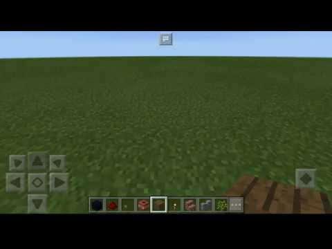Minecraft:Pocket Edition /Tutorial/How To Make Trampoline