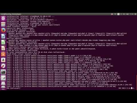 Ubuntu üzerine Mail Server kurulumu / Siirt Ünv. Bilg.Proğ.