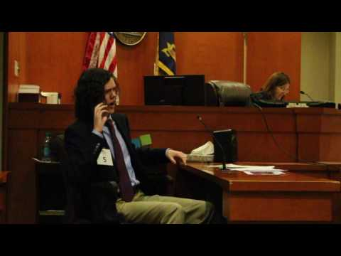 Mock Trial - over the top witness