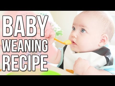 FIRST STAGE WEANING RECIPES 4-6 MONTHS | How To Cook Apple Puree For Baby | Ysis Lorenna