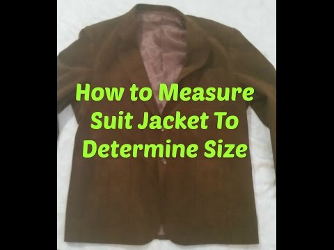 Measuring and Finding Suit Size When Listing on ebay for #resell