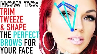 How To Get Perfect Brows How To Tweeze Trim Shape Your Eyebrows 2 Met