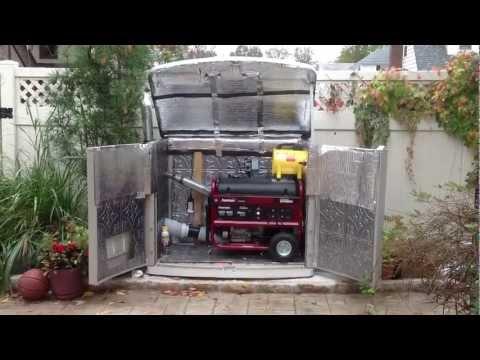 Quiet generator box