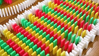 6,000 Dominoes - The Most RISKY Domino Setup Ever