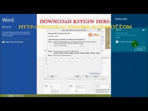 Microsoft Office 2013 Activation Key + WORKING Toolkit 2.5.1 / New 2015