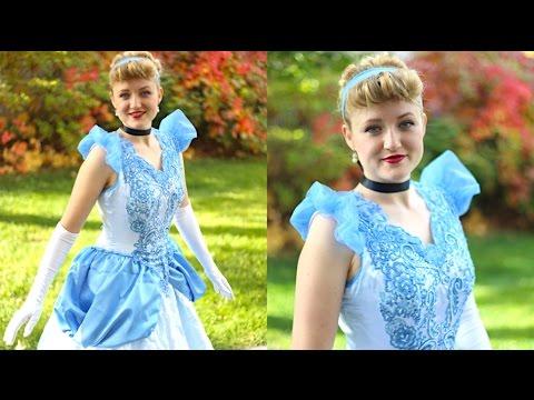How To Make A Cinderella Disney Princess Dress!