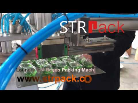 Gel Laundry Capsules Stock packing machine
