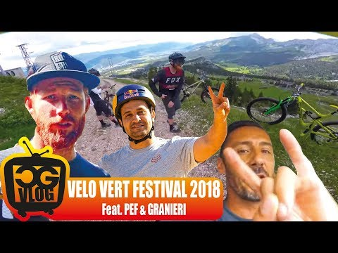 Riding her Tight and Wet at Vélo Vert Festival 2018 - CG VLOG #322