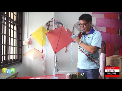 How to Make a Kite from Plastic Bags