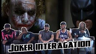 Joker Interogation Scene The Dark Knight 2018-REACTION!!