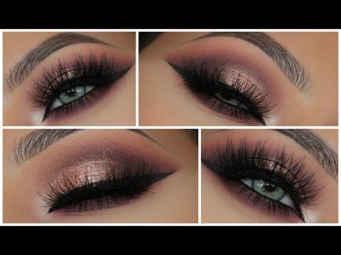 Glamorous Pink Metallic Smokey Eye   Amys Makeup Box