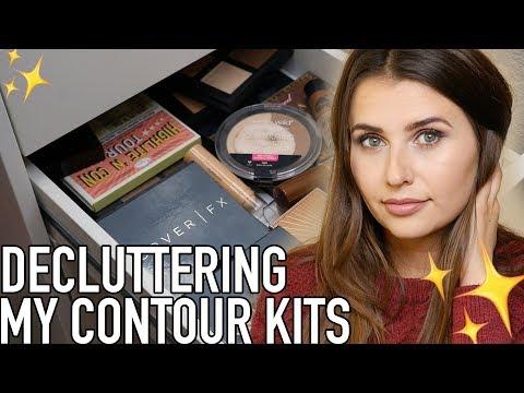 Makeup Declutter - Contour Kits (Cruelty Free & Vegan!) - Logical Harmony