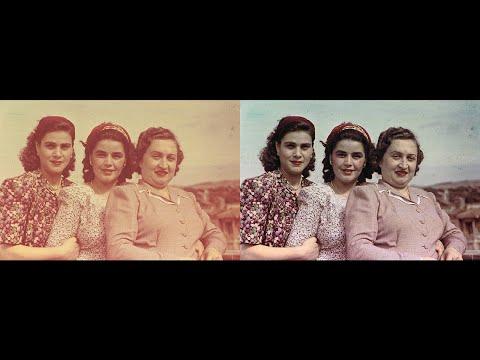 Photoshop Tutorial, Remove a Color Cast with Auto Color correction