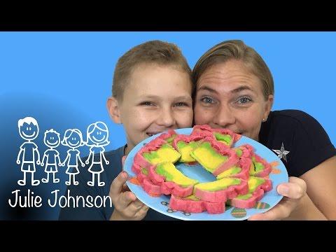 Resep Bolu Kukus Pelangi | Steamed Rainbow Cake