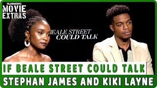 IF BEALE STREET COULD TALK | Stephan James and KiKi Layne talk about the movie