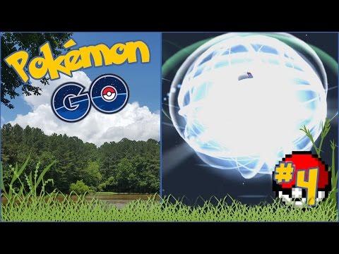 Pokémon Go!! Evolving Dratini & Nidoran's Mushroom Snacks?! - Episode #4