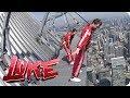 Luke Blickt In Den Abgrund Auf Dem CN Tower In Toronto Luke Die Woche Und Ich SAT1