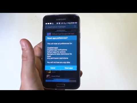 Samsung Galaxy S5: How to Reset All Apps Preferences - Fliptroniks.com