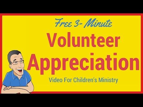 Short Childrens Ministry Teacher Appreciation Video