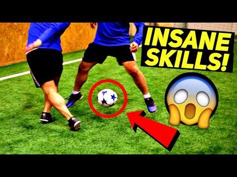 FOOTBALL SKILLS - INSANE Freestyle/Soccer/Football Tricks! (Ronaldo/Neymar/Messi Style)