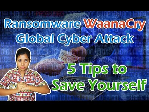 How to Prevent Waana Cry Ransomware Attack [5 Tips] | Ransomware Explained in Hindi