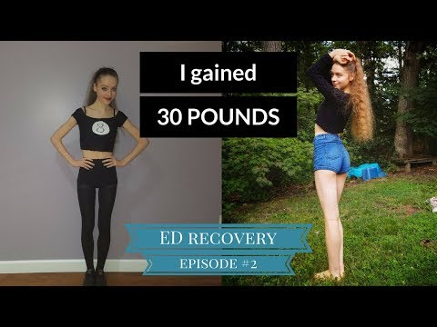 I gained 30 pounds! Loving your body at a recovered weight