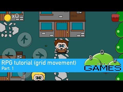 GameSalad RPG tutorial (grid movement) pt.1