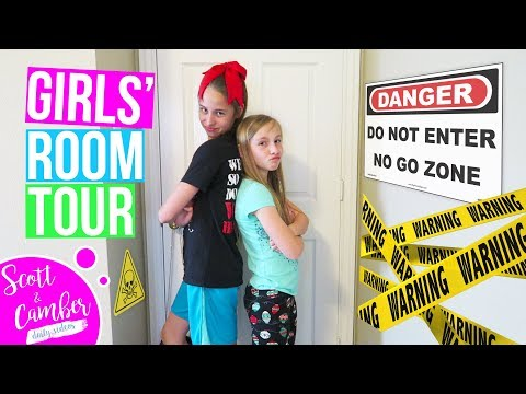 TWEEN GIRLS' BEDROOM TOUR!!