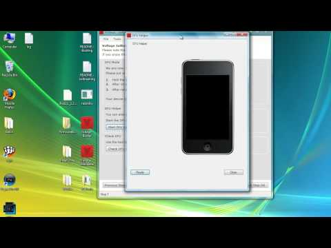[HD] One Click Jailbreak 2G iPod Touch Second Generation Tutorial