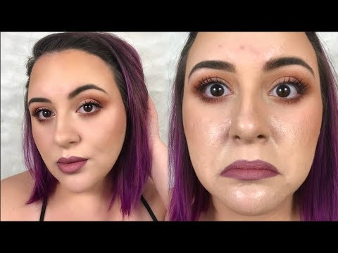 Long Lasting Makeup For OILY Skin| Ashley Chadwick|