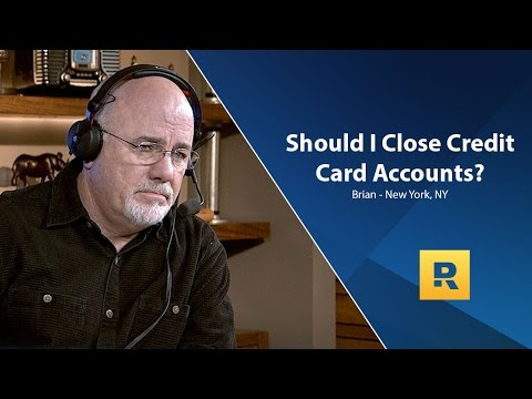 Should I Close My Credit Card Accounts?