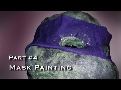 Making a Teenage Mutant Ninja Turtle Costume - Cosplay - Part 004
