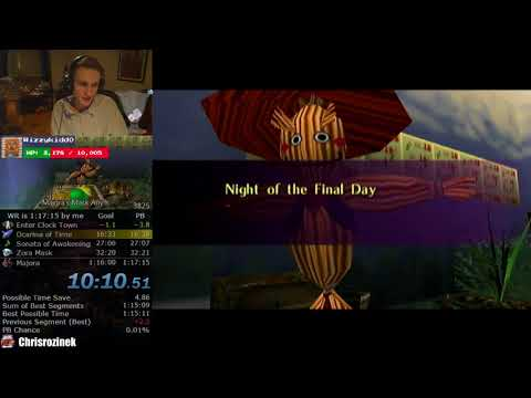 The Legend of Zelda: Majora's Mask Any% Speedrun (1:16:50)