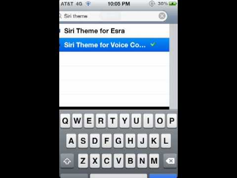 How to get a Siri theme for voice control (Tutorial)