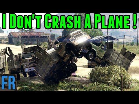 Gta 5 Challenge - I Don't Crash A Plane !